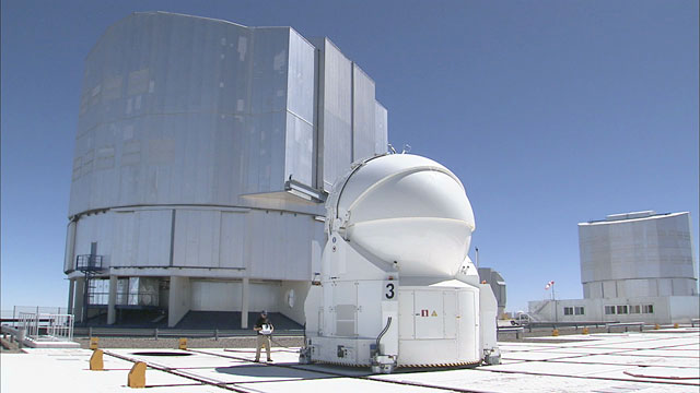 An Auxiliary Telescope on the Move