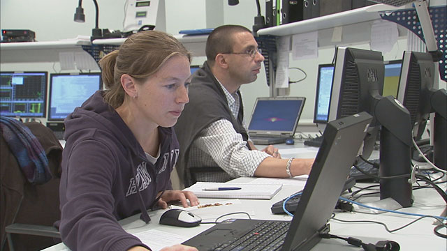 VLT astronomers at work — 1