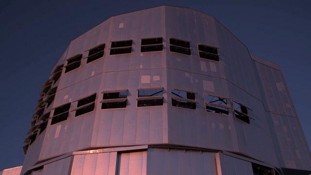 VLT dome