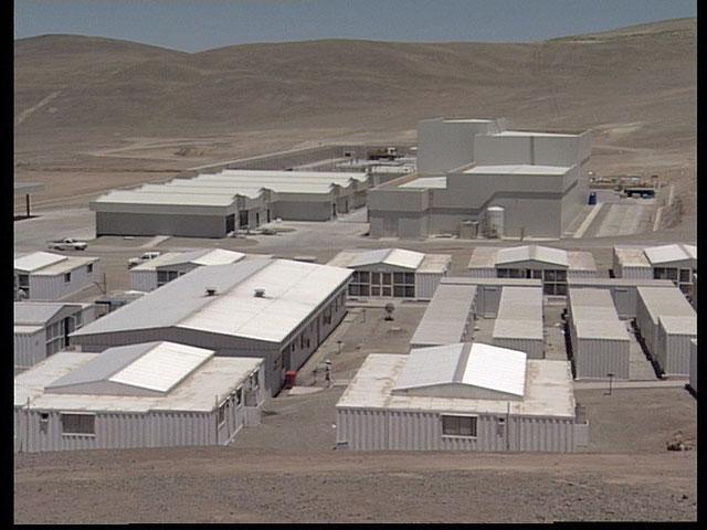 Paranal observatory basecamp