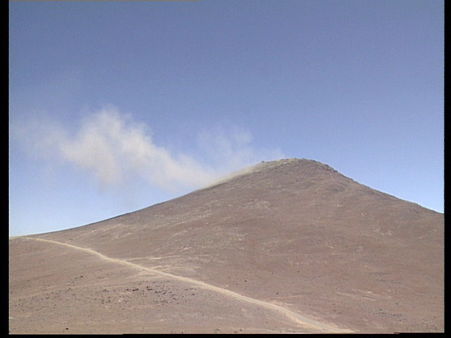 Blasted area in Paranal