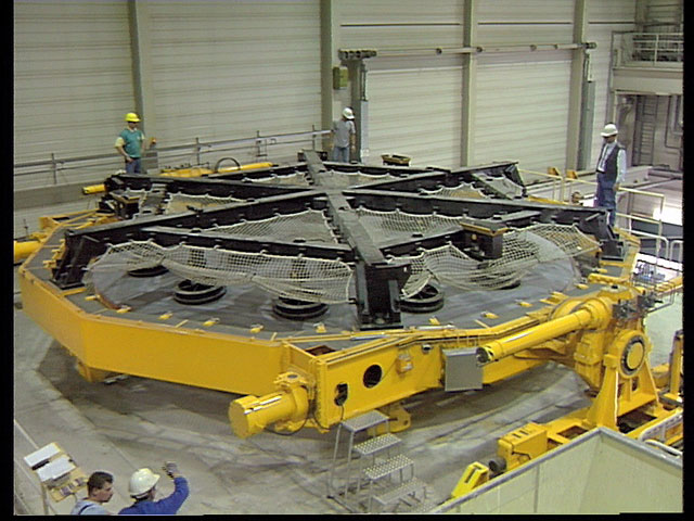 M1 mirror assembly process