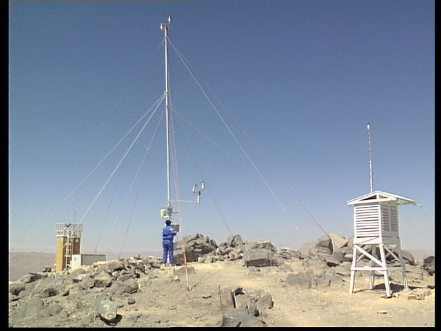Paranal weather station