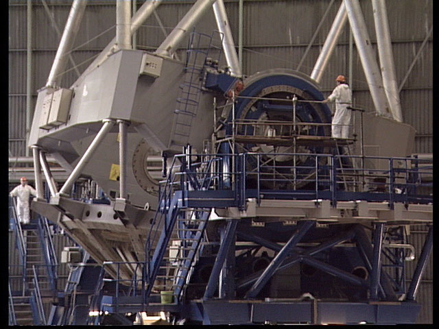 VLT structure | ESO Ireland