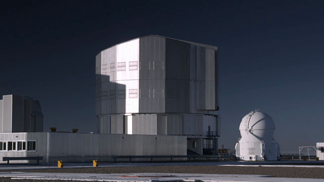 Unit Telescope Time-lapse D
