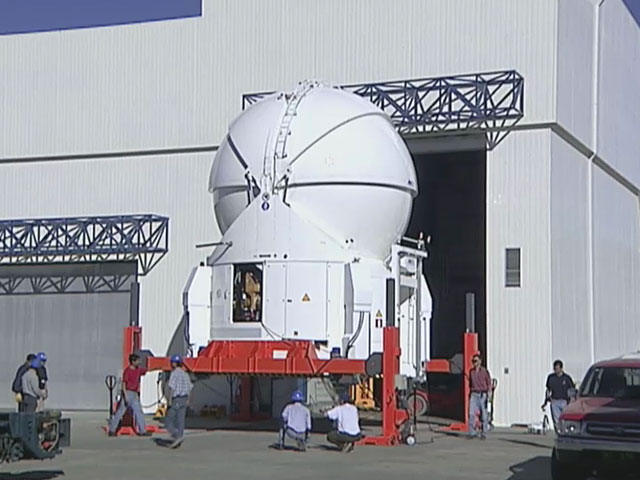 Video News Release 14: First Auxiliary Telescope for the VLT Interferometer Installed at Paranal