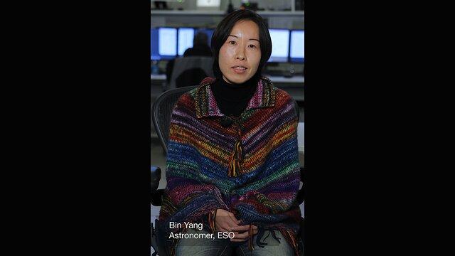 Bin Yang astrônoma da ESO