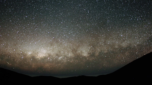 Zodiacal Light Time-lapse